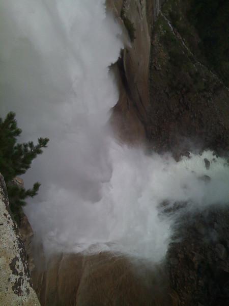 Nevada Fall. Mist Trail, Yosemite NP