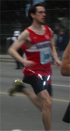 2003 Vancouver Sun Run - Paddy McCluskey