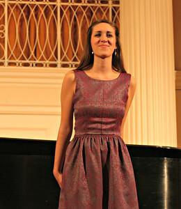 Victroia's junior recital October 2012