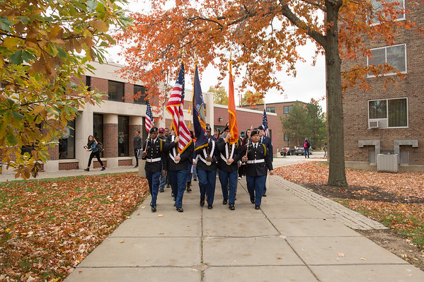 11/9/16 Silent March Honoring Veteran's Day