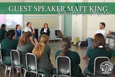 Guest Speaker Matt King