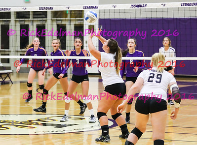 "Lynnwood ""Royals"" vs. Issaquah ""Eagles"" Varsity Volleyball"