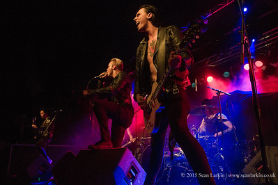The Treatment - Rock City, Nottingham - 19th September 2015