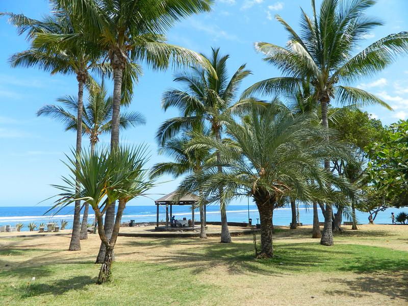 St. Leu beach.