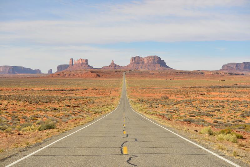Where Forrest Gump stopped running