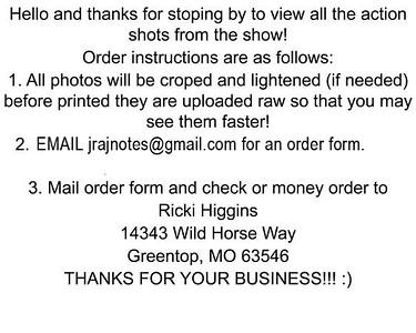 Order Information