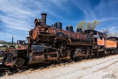 Pacific Southwest Railroad Museum  17MAR13