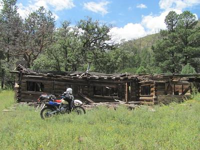 Jemez Mtns. - Ponderosa-Borrego Canyon & Mesa-Bear Springs DS Ride  8-10-15