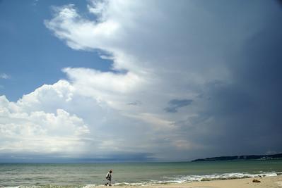 Summer Storm Clouds, La Cruz de Huanacaxtle, Mexico