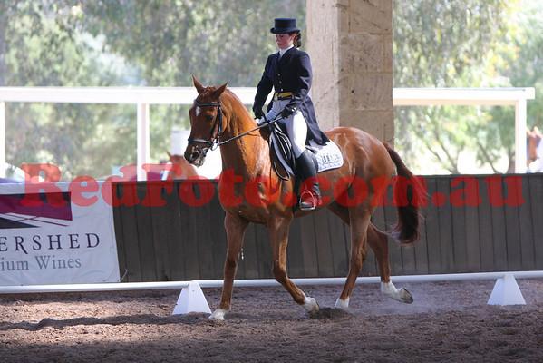 2009 10 17 Brooker Swan River Horse Trials Dressage 2 Star