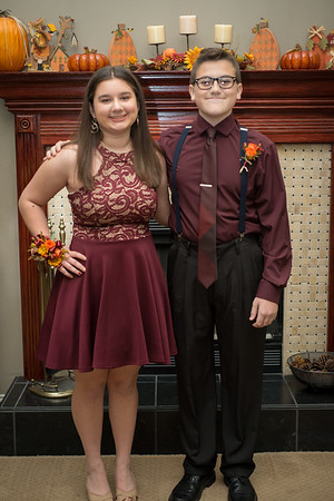 Jeremy and april HOCO 2018