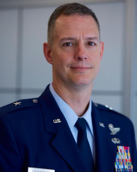Brigadier General Alexus Grynkewich