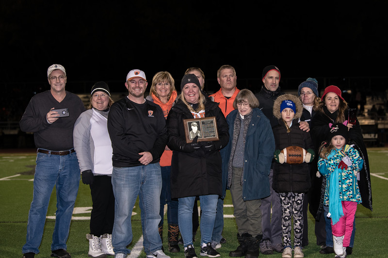 WB Football Hall Of Fame and Senior Night Parent Pictures 2018