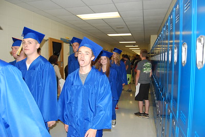 Senior Walk 2016 at Crane High