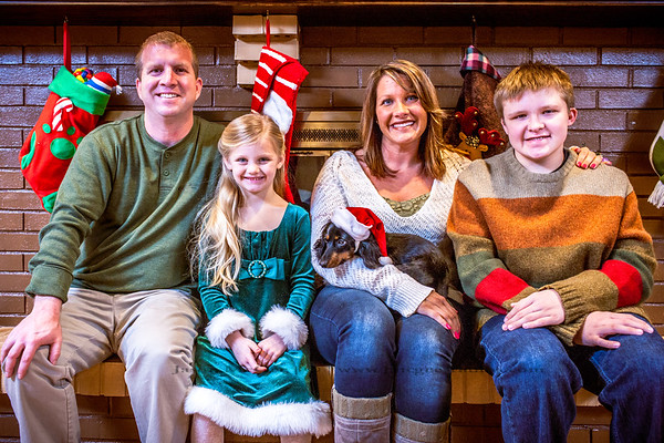 The Morgan's Christmas 2014