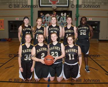Nauset Girls JV Basketball Team and Roster 2017-18