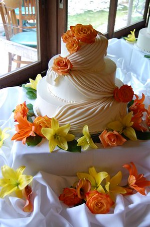 Cake flowers $40