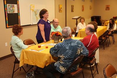 Welcome New Parishioner Potluck 10/01/2011