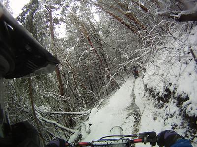 Snow Day On The Peak