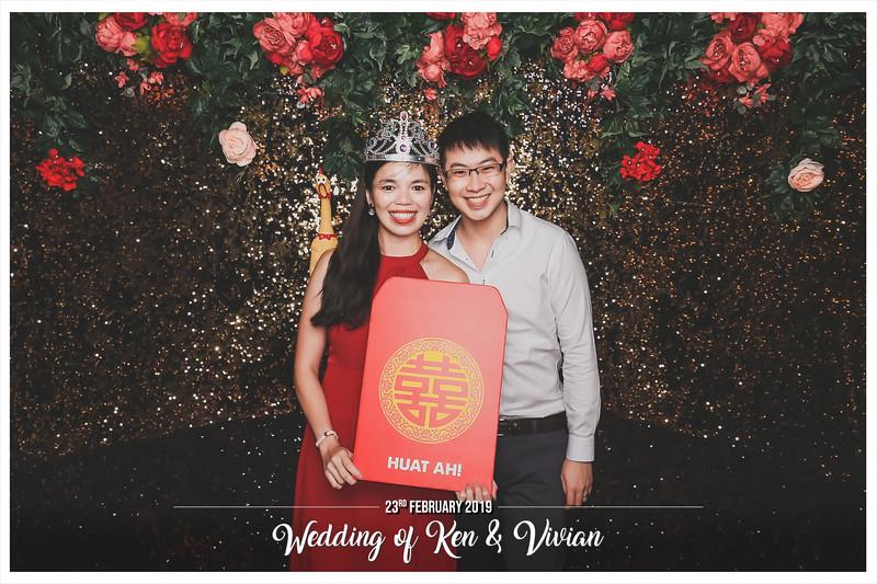 Wedding of Ken & Vivian | © www.SRSLYPhotobooth.sg