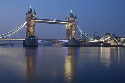 London at Dawn - The City