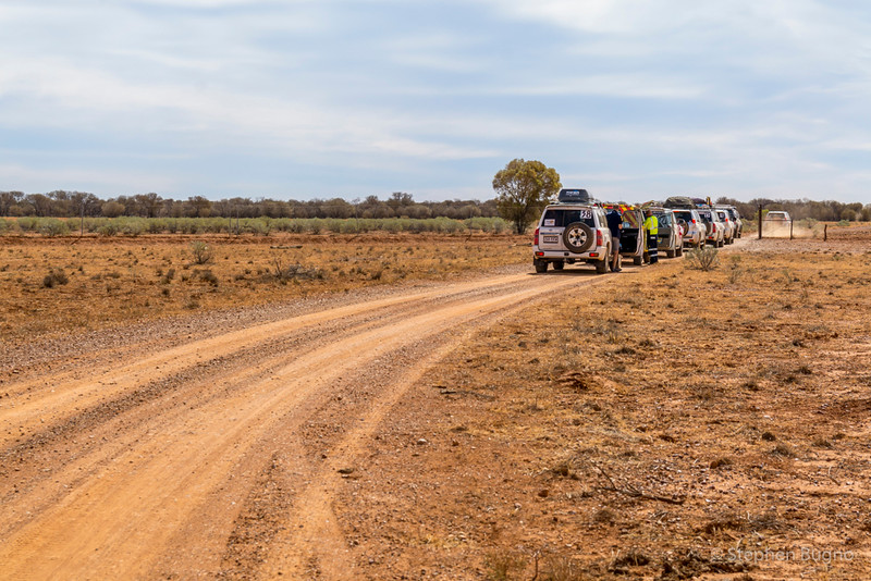 Outback Trailblazers road rally
