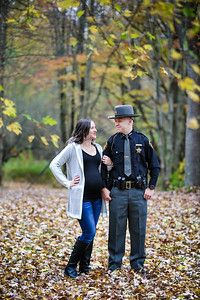 Callie & Josh Fall Family Portrait Session