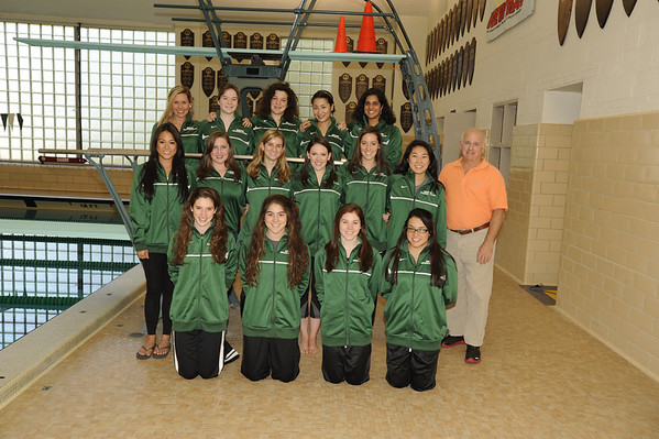 BABSON SWIMMING TEAMS  10.28.2011