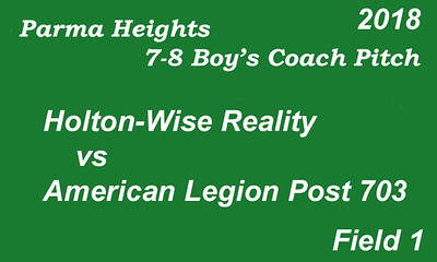 180605 Parma Heights Boy's 7-8 Coach Pitch Field 1
