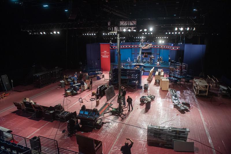 Debate 2020 Curb Event Center
