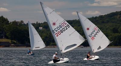 July 23rd Laser Sailing