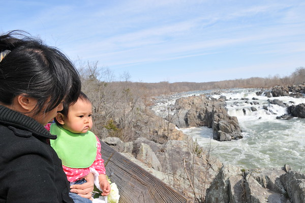 Great Falls National Park with Dennis and YuChan