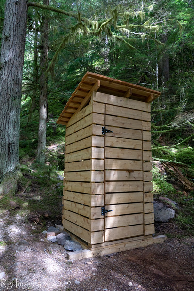 New backcountry crapper, Three Forks, ONP