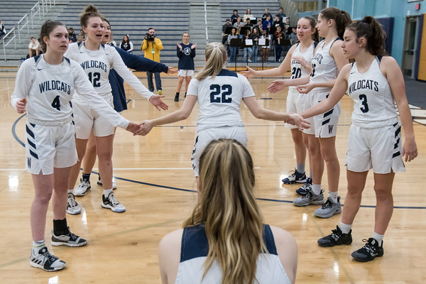 2020 Girls Varsity Basketball Playoffs vs Willamette