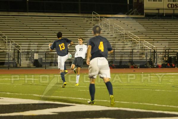 East vs McDevitt Boys Varsity Soccer