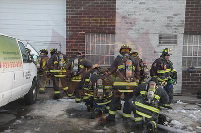 East Farmingdale Fire Co. Working General Alarm 68 Lamar St. 1/25/15
