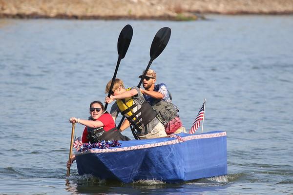 2021 Smokin On the Water -- Raft Race