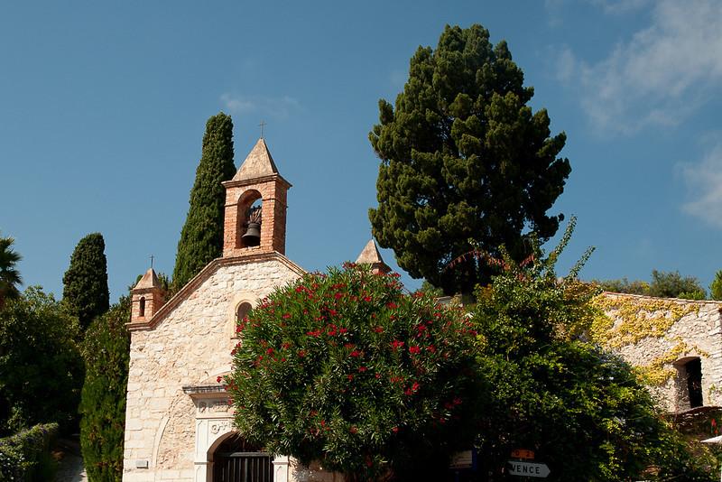 Church at Saint Paul-de-Vence