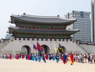 Gyeongbokgung Palace, Seoul, June 2012