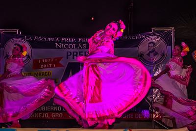 Michoacan dancers