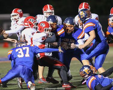 Penn Yan Football 10-9-15
