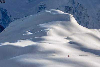 Hiking Lines in Arlberg