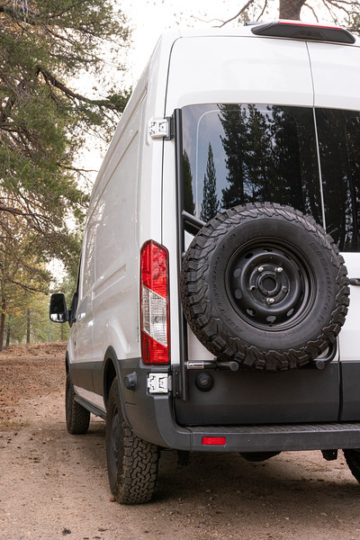 Aluminess Tire Carrier Images