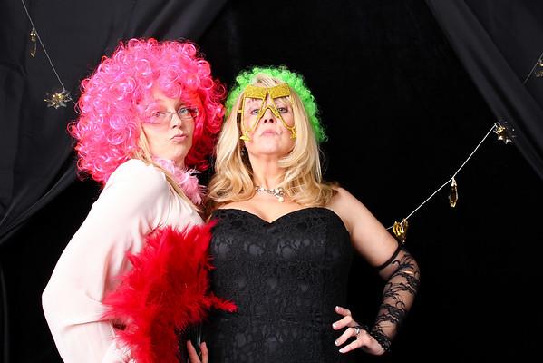Sue and Eamonn wedding photo booth