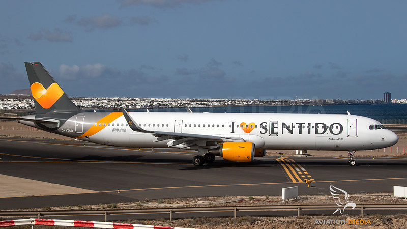 Condor_A321_D-ATCD_Grey Yellow Thomas Cook cs and I Love Sentido titles_ACE_20180714_Ground_Sun_MG_3105_AM.jpg
