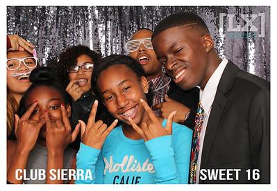 Club Sierra: Sweet 16