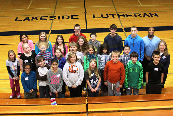Our Redeemer Madison 4th grade 2014