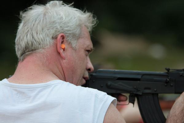 Pete Shooting - West Virginia Trip - August 2009