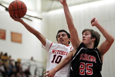 Salem vs Winchester Boy's D2 Basketball