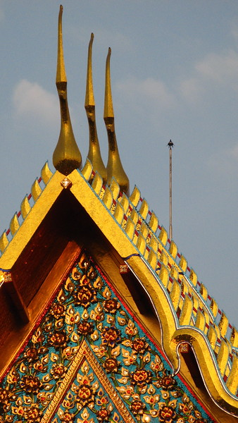 Garudas at Wat Pho.
